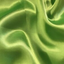 """Satin Fabric for Wedding Dress 60"""" inches By the Yard Bridal Handmade DIY Party"""