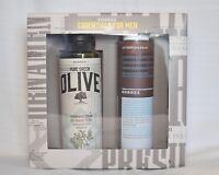 Korres Essential For Men 1)Marigold & Ginseng Aftershave Balm 2)Showergel  Cedar