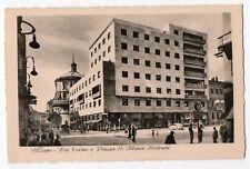 CARTOLINA - MILANO VIA TORINO E PIAZZA S. MARIA BELTRADE RIF. 3223