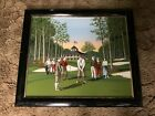 """H. Hargrove Framed Golf Painting (24"""" X 28"""")"""