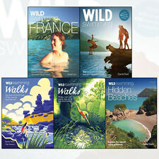 Wild Swimming Walks 5 Books Collection Set (Wild Swimming France) Brand New Pack