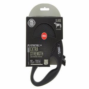 Great Choice Retractable Extra Strength Soft Grip Leash XL 150lbs #I3