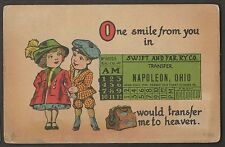 One Smile From You In Napoleon Ohio Would Transfer Me To Heaven 1914 Lina Fruth