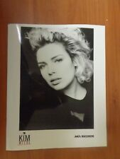 Vintage Glossy Press Photo Musician Kim Wilde Her Comes The Aliens Close