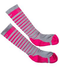 2Xu Women's Compress Muscles Crush Competition Striped Performance Run Socks 7-9