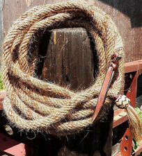 Gail Hought Blind Bob Mills 22 Ft Chestnut Mane Hair Mecate McCarty Rope Reins