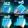 1x Moyu Meilong Speed Cube 2x2 3x3 4x4 5x5 Stickerless Puzzle Magic Cube