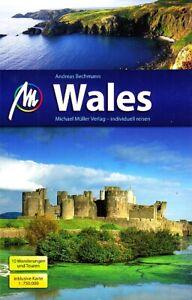 REISEFÜHRER Wales 2019/20 + Landkarte +10 Wanderungen MICHAEL MÜLLER VERLAG NEU