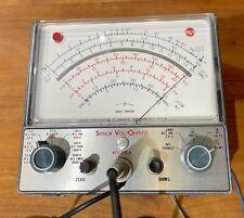 Vintage 1969 Rca Senior Volt Ohmyst Vtvm Meter