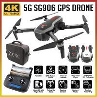 Beast SG906 5G Wifi GPS FPV Drone 4K Camera + Storage Bag Foldable RC