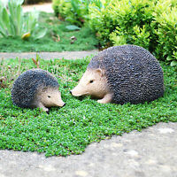 Life-like Hedgehog Garden Animal Ornaments Small or Large Available