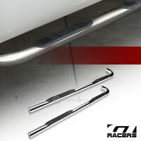 """For 2001-2005 Ford Explorer Sport Trac 3"""" Chrome Side Step Nerf Bars Boards hd"""
