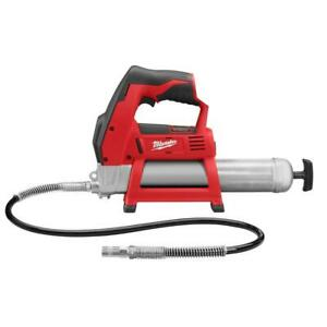 Milwaukee 2446-20 M12 12V 14-Inch Lithium-Ion Grease Gun - Bare Tool