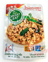 SMART EAT Chicken Stir-Fry With Basil Thai Food Ready Meal Instant Food 115g