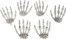 Morris Costumes Plastic Skeleton Hands. SS88534