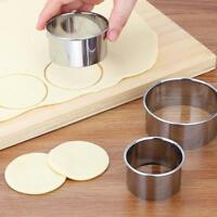 5pcs/Set Stainless Steel Round Circles Cookie Dessert Fruit Mould_Party