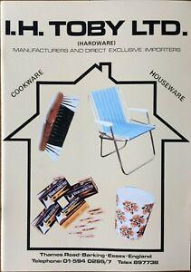 Vintage 1970s Wholesale Hardwares Catalogue. Book of images Sun lounger, kettles
