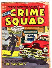 "Anti-Crime Squad No 2 1955 -Australian- ""Jewellery Store Robbery Cover! """