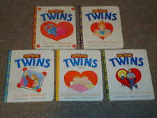 Lot 1-5 Browne Twins Board Books Patricia Frechtman Beginning Come Home 1st Walk