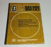Ersatzteile Katalog / Teile-Liste Lada Niva VAZ 2121 - Ausgabe 1978