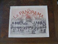 LE PANORAMA DE L' EXPOSITION UNIVERSELLE PARIS 1900  N°14  neurdein baschet