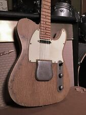 Relic Tele Electric Guitar with Fender Standard Telecaster Pickups Worn Aged