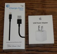 Apple AT&T Charge Sync Lightning to USB Power Cable 4ft iPhone 5s 6 6S PLUS iPad