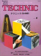 WP216 - Bastien Piano Basics - Technic Level 1 (Le