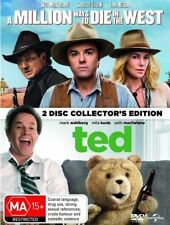 A Million Ways To Die In The West / Ted (DVD, 2018, 2-Disc Set)