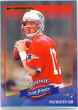 Serial Numbered Donruss Tom Brady Original Football Cards