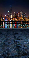 City Night View 10'x20' CP Backdrop Computer printed Scenic Background ZJZ-798