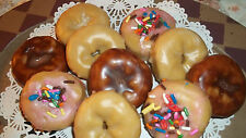 10 HIGHLY SCENTED MINI DONUT TART MELTS ~ YOUR CHOICE OF SCENT ~ CUTE!!