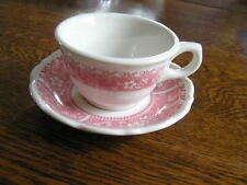 Syracuse China STRAWBERRY HILL Cup & Saucer Set