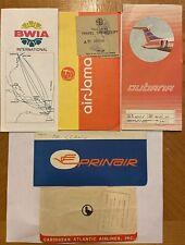Airline Ticket Jackets (5)