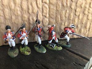 5 Barzo British infantry & Grenadiers War of Independence, 7 year war, Jacobite
