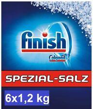 6er Pack finish Calgonit SPEZIAL-SALZ 6 x 1,2kg Spülmaschinensalz