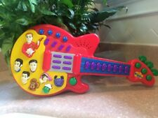 Wiggles Red Musical Guitar Singing & Dance Songs Toy 2003
