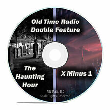 X Minus 1, The Haunting Hour, All 203 Episodes, Old Time Radio, OTR, DVD CD F67