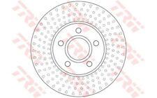 TRW Juego de 2 discos freno 278mm ventilado para VOLVO V40 DF6536