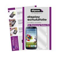 2x Samsung Galaxy S4 Schutzfolie klar Displayschutzfolie Folie unsichtbar dipos