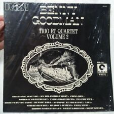 Benny Goodman: Trio Et Quartet Volume 2 - RCA 730 707 - French Import Vinyl LP