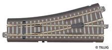 More details for tillig 83817 bedding track, length 129,5 mm left points 15°, with hand dr new