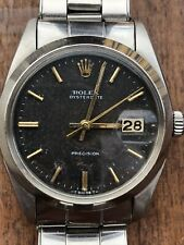 Rolex Oysterdate Precision 6694 Vintage 1966 Tropical Dial VERY RARE