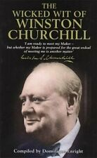 The Wicked Wit of Winston Churchill Hardback Book The Cheap Fast Free Post