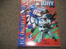 NEW England Patriots V Washington Redskins NFL @ Foxboro Stadium 13TH OTTOBRE 1996