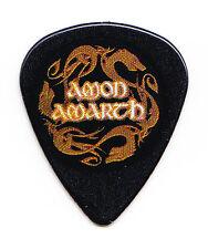 Amon Amarth Logo Black Guitar Pick #3 - 2017