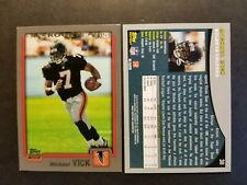 Michael Vick Atlanta Falcons 2001 Topps rookie 2012 reprint Football Card
