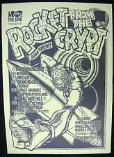 ROCKET FROM THE CRYPT 1993 JAPAN Tour CONCERT POSTER Minty! VINTAGE!