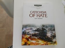 A Space Marines Battles Novello - Catechism of Hate, signed hardback book
