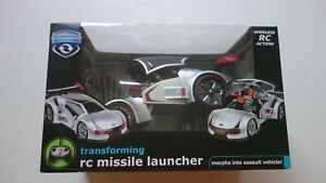 THE BLACK SERIES transforming rc missile launcher morphs into assault vehicle!